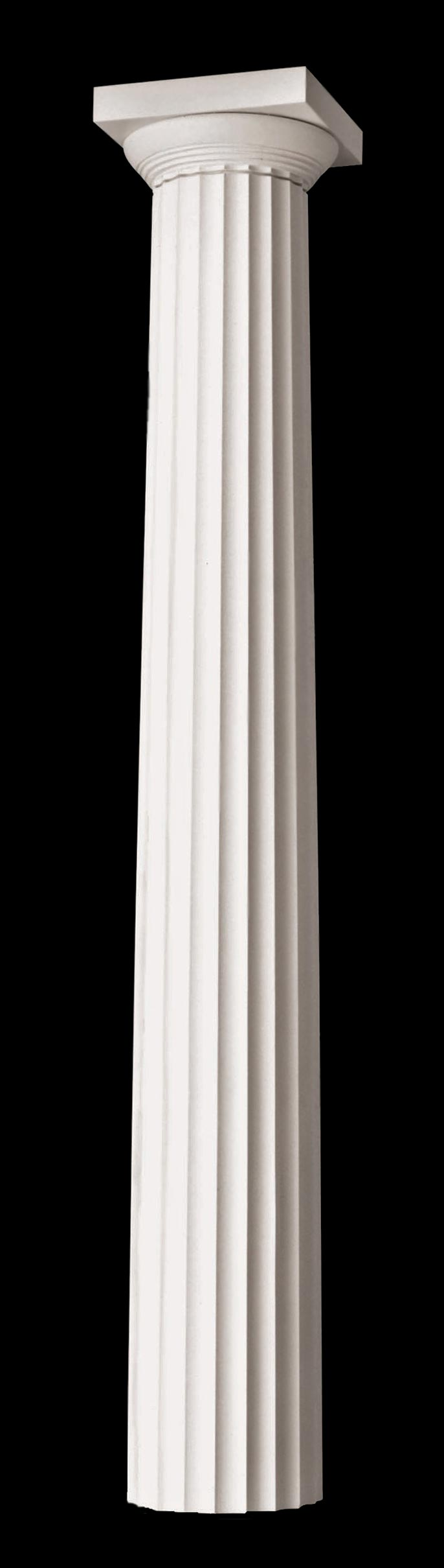 Polystone Greek Doric Fluted Composite Columns