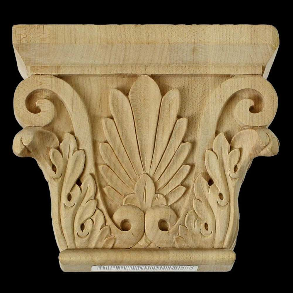 Carved wood pilaster capitals chadsworth columns