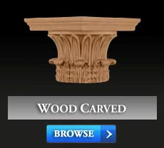 WOOD (CARVED) CAPITALS