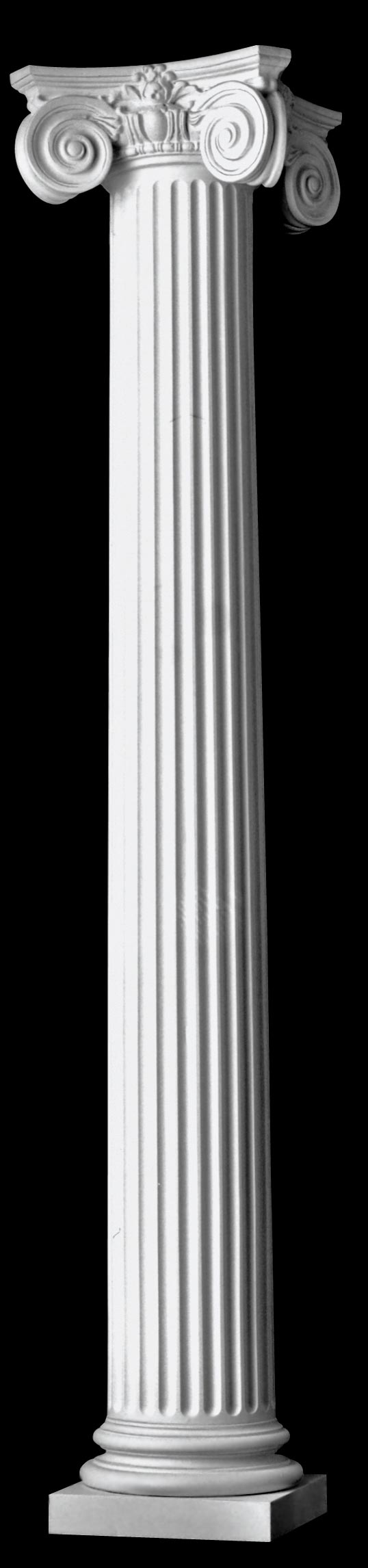 Fluted Tapered Scamozzi Wood Columns Architectural