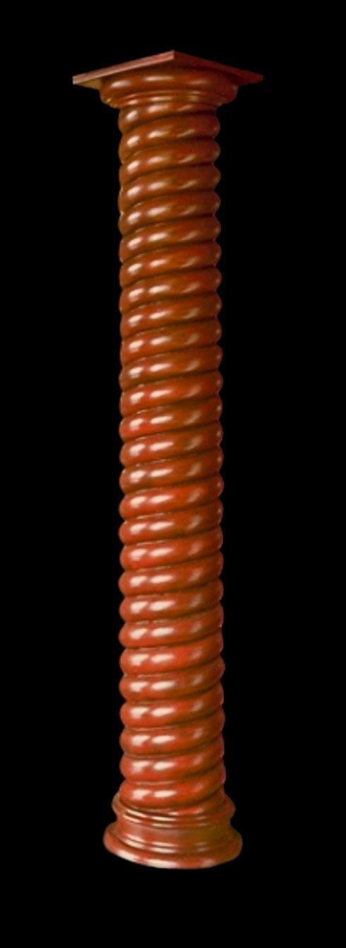 Twist Wood Columns : Architectural rope twist wood column roman doric