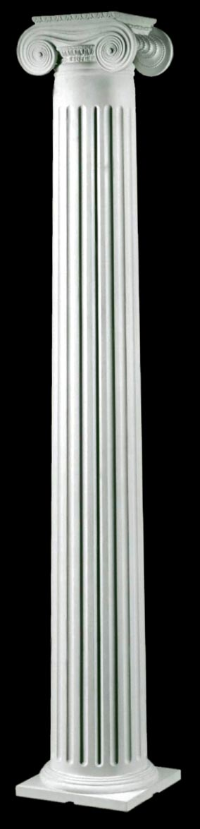 greek erechtheum colonial wood columns by chadsworth columns. Black Bedroom Furniture Sets. Home Design Ideas