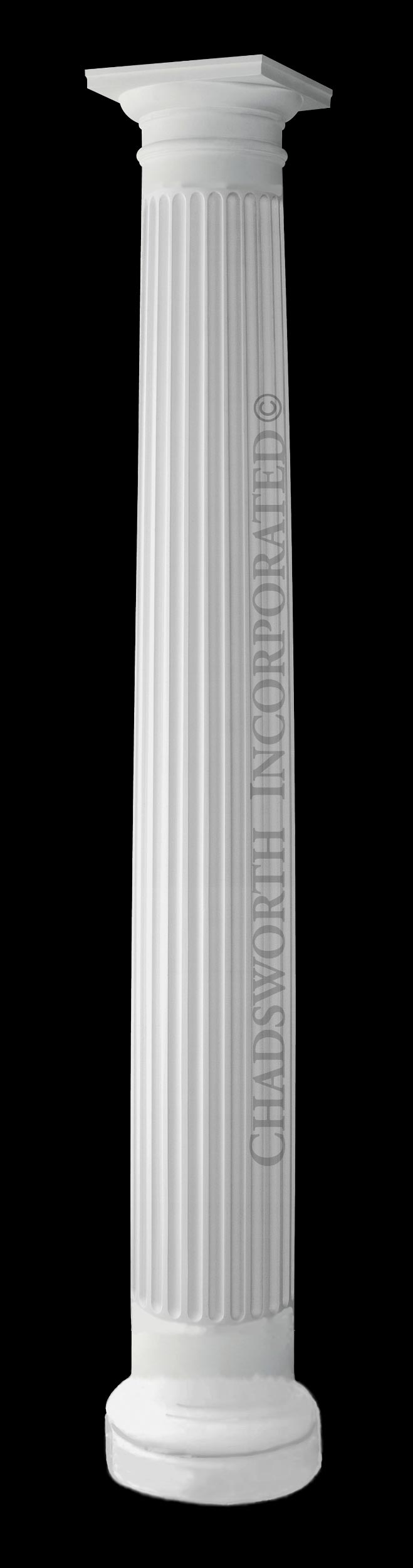 Design 601 Rb Tuscan Order Frp Composite Column