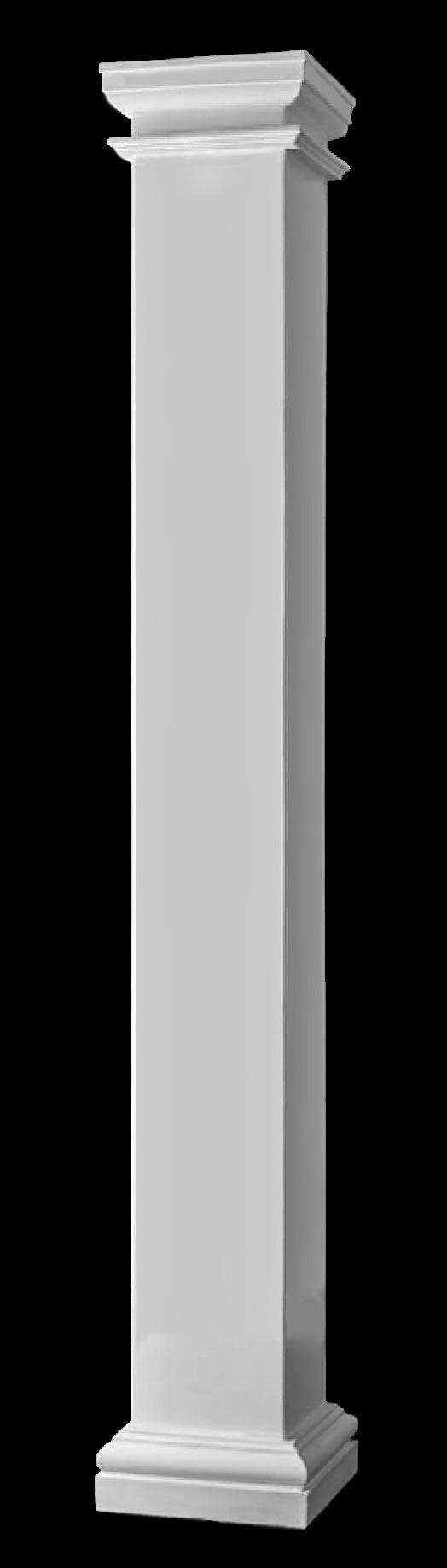 Fiberglass columns large square fiberglass composite for Fiberglass square columns