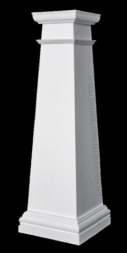 Craftsman Style Composite Fiberglass Frp Columns