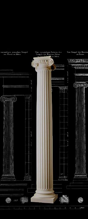 Beautiful House Column Designs By Chadsworth Columns Roman Ionic Fluted Wood Columns
