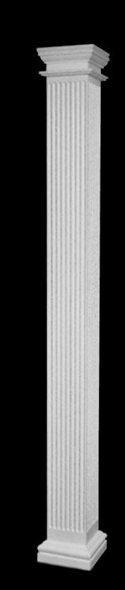 Fluted Architectural Tuscan Frp Fiberglass Columns