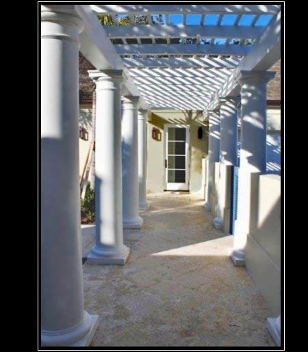 Frp columns architectural exterior frp composite columns for Fiberglass interior columns