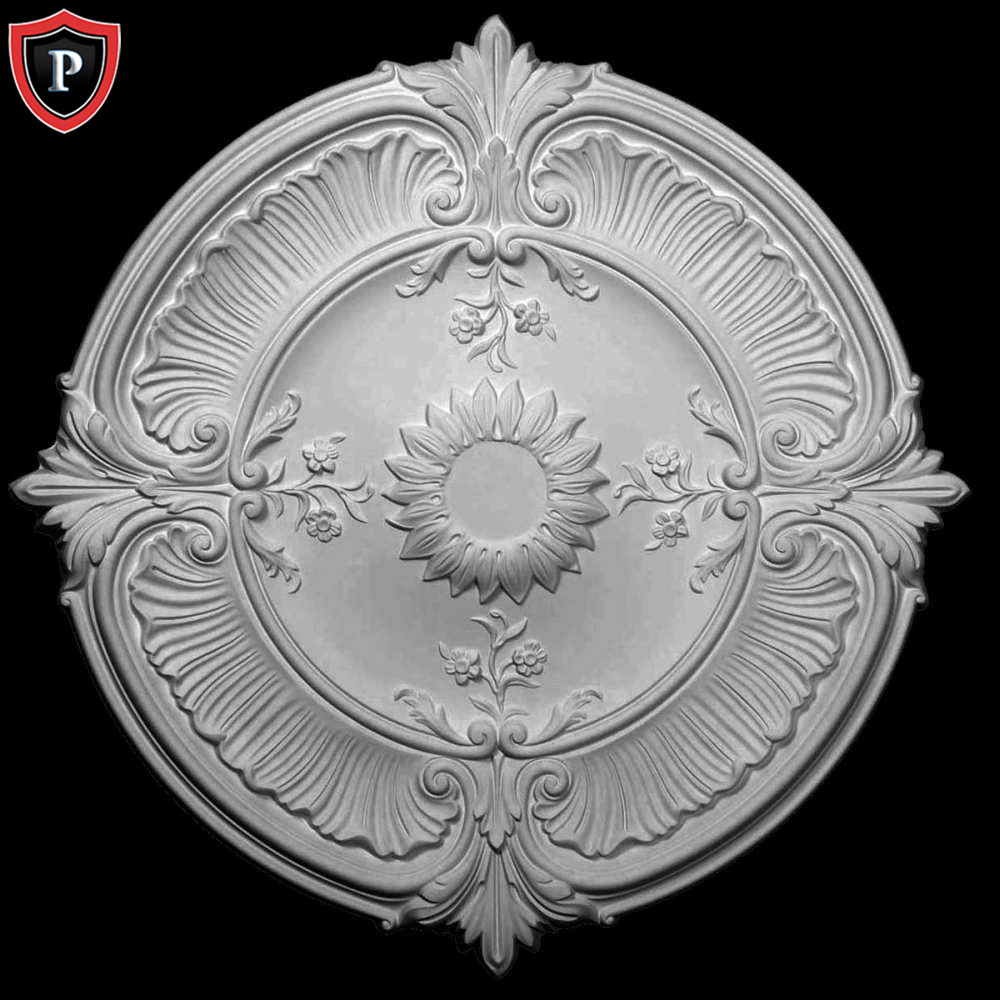 Attica Acanthus Leaf Ceiling Medallion Made From Polyurethane