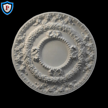 Plaster Medallion - French Style - 30-1/2""