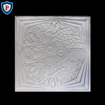 Plaster Panel, Art Deco Medallions