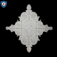 Empire Diamond Plaster Ceiling Medallion