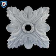 Plaster Medallion - Acanthus Style