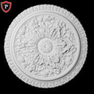 Floral Ceiling Dome Design Polyurethane Ceiling Domes