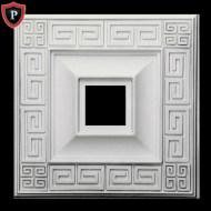 Square Ceiling Medallions Polyurethane Material