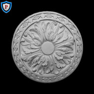 Plaster Medallion - French Style - 12-1/4
