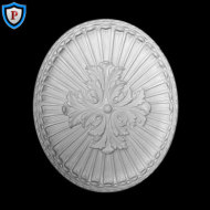 Oval Plaster Medallions Ceiling Medallions Decorative