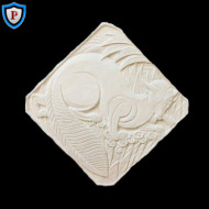 Plaster Interior Wall Plaque
