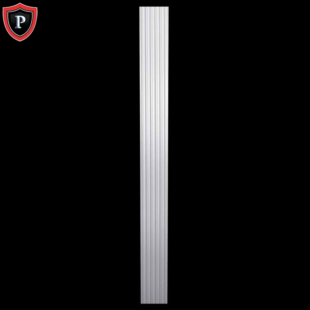 Fluted Shaft Entryway Polyurethane Pilasters