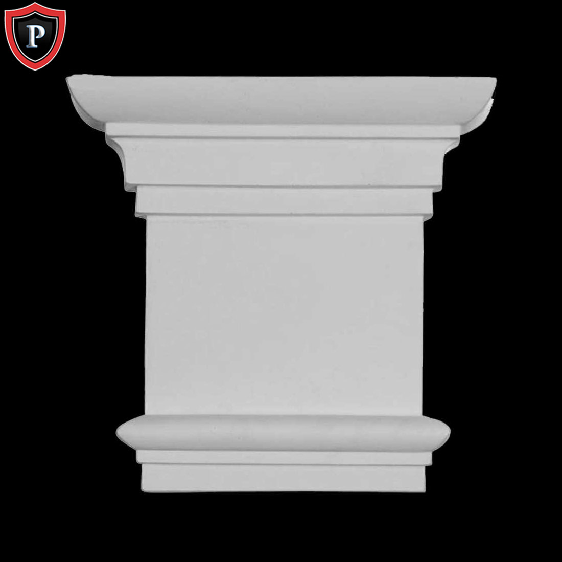 Traditional Pilaster Capitals Polyurethane Material 8