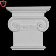 Classic Roman Ionic Pilaster Capital Decorative Entryway