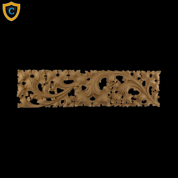 Ivy Scroll Bands: Gothic Ivy Linear Band Molding