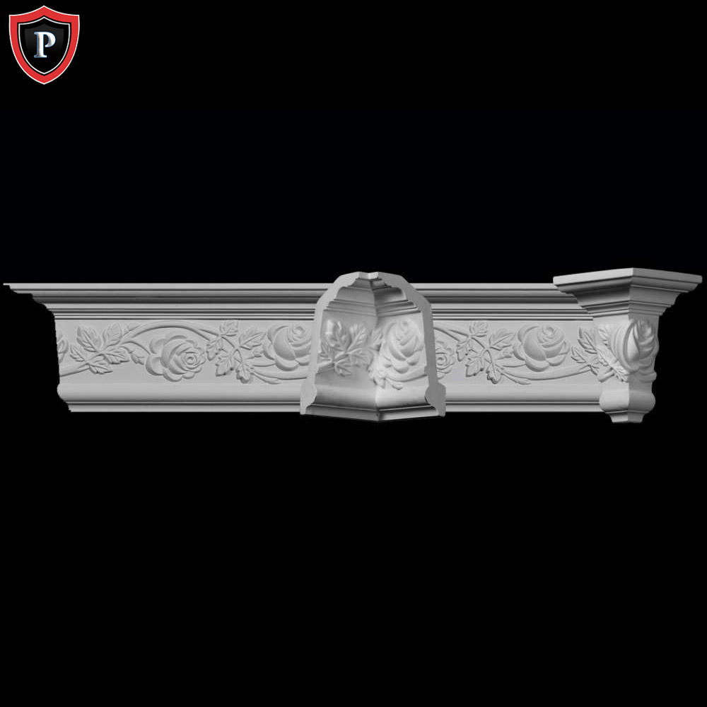 Rose crown molding complete system chadsworth columns Crown columns