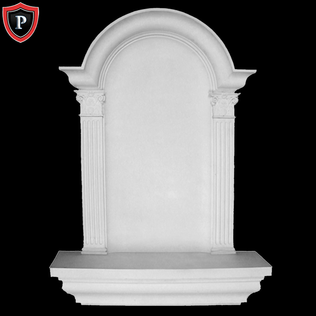 Large Niche Decorating Ideas: Large Waltz Wall Niche, Surface Mount, Interior Wall Niches