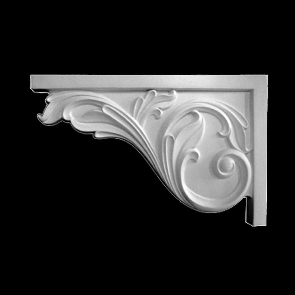 Interior stair brackets polyurethane decorative brackets for stairs for Decorative corbels interior design