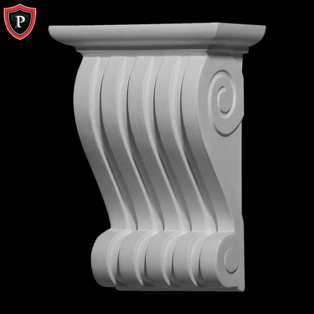 Polyurethane corbels 6 1 2 w x 3 3 8 d x 9 h leandros corbel for Polyurethane columns