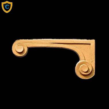 Nice Decorative Composition Stair Brackets | Design #SB 34031 6