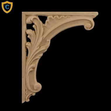 Decorative Composition Stair Brackets | Design #SB F176 6