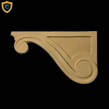 Decorative Composition Stair Brackets | Design #SB 95031 6