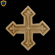 Decorative Cross Composition Accent