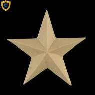 Decorative Classic Star Composition Accent