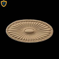 Decorative Home Products, Oval Shape Composite Rosettes
