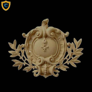 Shield Design - French Renaissance Design - Composition Material - (W): 13