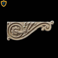 Decorative Composition Stair Brackets | Design #SB-81031-6