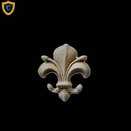 Fleur di Lis Accents, Decorative Wall Accents, Gothic Style