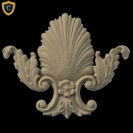 Decorative Shell Accent | SH-F046-6 | Chadsworth's 1-800-COLUMNS