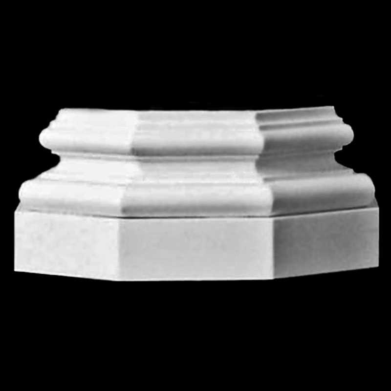Architectural Wood Attic Base Molding And Plinth For An