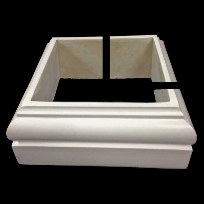 Tuscan Order Polystone 174 Base Molding Plinth For A