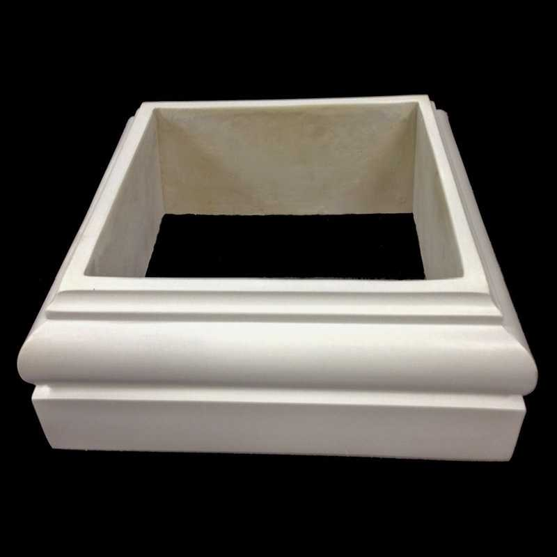 Tuscan order polyurethane base molding plinth for a for Polyurethane columns