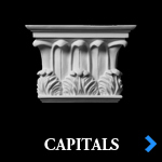 Decorative Entryway Capitals and Plinths - Architectural Pilaster Capitals and Pilaster Plinths by Shop.columns.com - Chadsworth Home Products - 1-800-486-2118