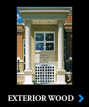 Architectural Wood Columns, Interior Wood Columns, Exterior Wood ...