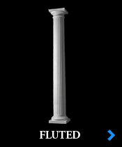 Fiberglass Column Shaft Styles Architectural Porch Columns