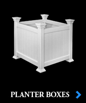 Vinyl Porch Planter Boxes by Chadsworth Columns: shop.columns.com