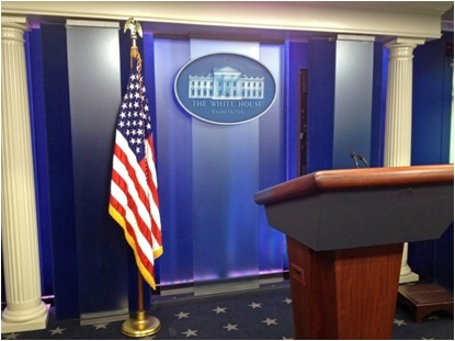 Chadsworth Projects White House Press Room Washington D C