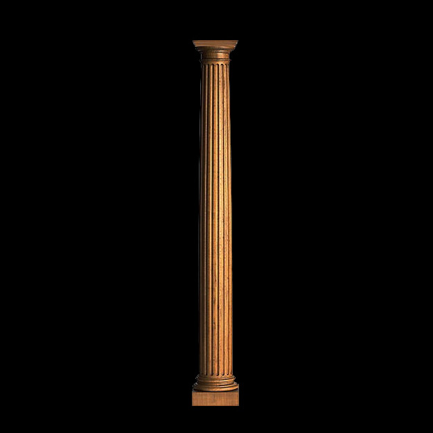 Fluted Columns for Fireplaces & Mantels | sales@columns.com