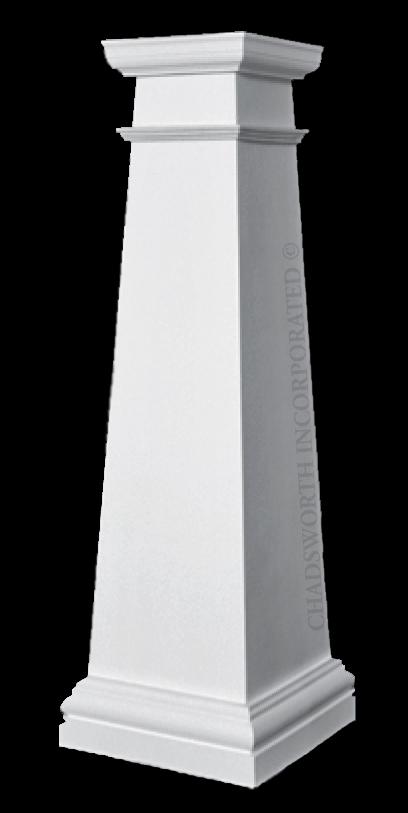 Craftsman style composite fiberglass frp columns for Craftsman columns